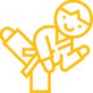 Киокусинкай каратэ для детей от 5 до 7 лет