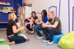 Занятия для детей с родителями - фотография 3